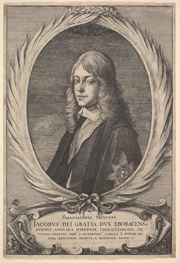James, Duke of York (1651). Accession number: 28.7.6.