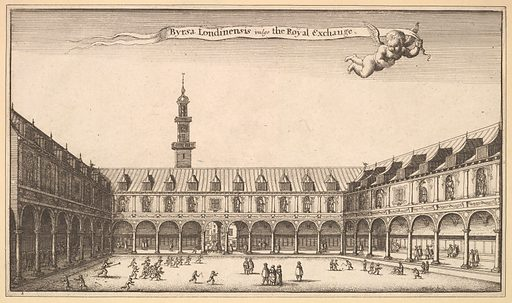 Royal Exchange (1647). Accession number: 29.102.128.
