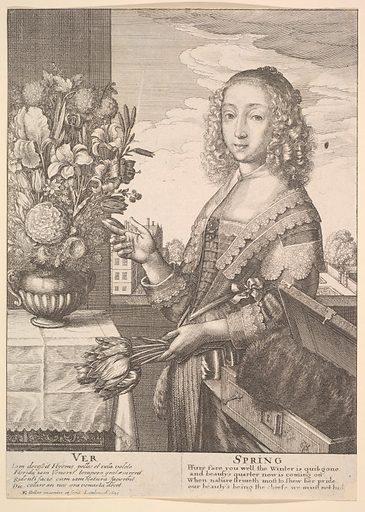 Ver - Spring (Three-quarter-length seasons) (1641). Accession number: 47.100.514.