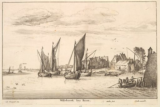 Willebroeck bey Boom (1651). Accession number: 49.95.1426.