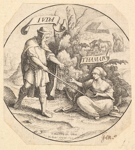Judah and Tamar (1640). Accession number: 51.501.2142.