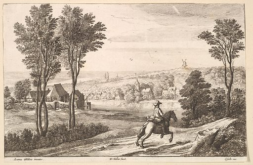 The Horseman (1650). Accession number: 51.501.1406.