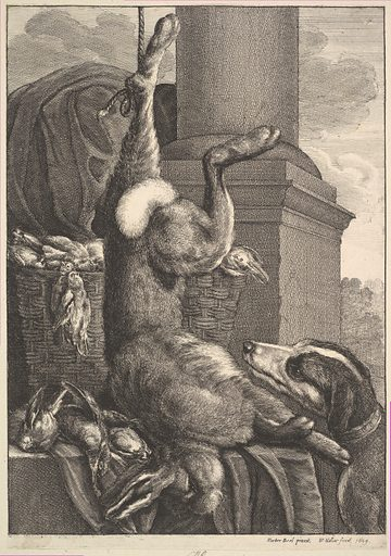 The Dead Hare (1649). Accession number: 51.501.1407.
