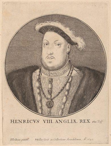 Henricus VIII Angliae Rex etc. (1647). Accession number: 51.501.2101.