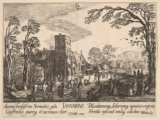 January (1628–29). Accession number: 51.501.5446.
