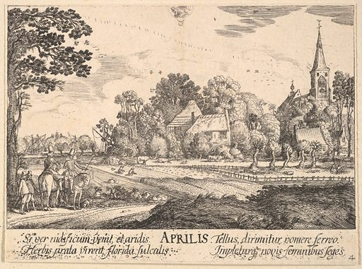 April (1628–29). Accession number: 51.501.5449.