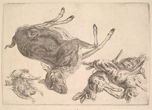 Dead deer, hares and game (1625–77). Accession number: 51.501.1376.