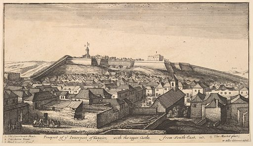 Prospect of the inner part of Tangier (ca. 1670). Accession number: 60.534.23.