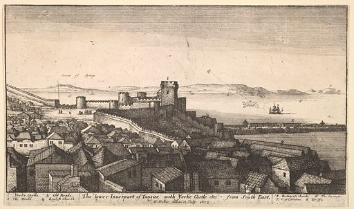 The lower inner part of Tangier (1673). Accession number: 60.534.24.