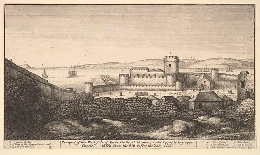 The West Side of Yorke Castle (1669). Accession number: 60.534.25.