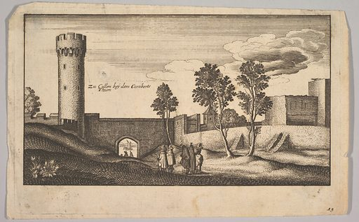 The Kunibert Tower near Cologne (copy) (1625–77). Accession number: 62.635.874.