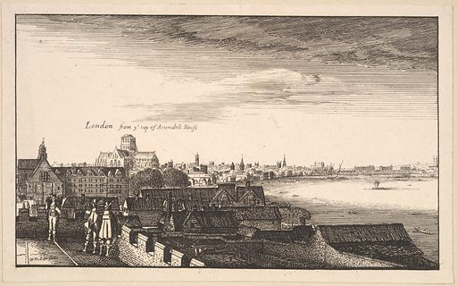 London from Arundel House, copy (17th century ?). Accession number: 62.635.875.