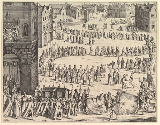 Funeral of General Johan Baptiste von Taxis (1645). Accession number: 62.656.12.