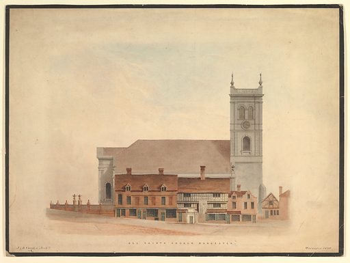 All Saints Church, Worcester (1836). Accession number: 66.562.8.