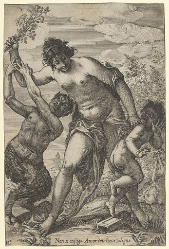 Venus Whipping Cupid with Roses (early 17th century). Accession number: 17.50.16-188.