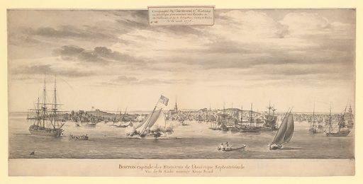 Boston Harbor (1778). Accession number: 83.2.1105.
