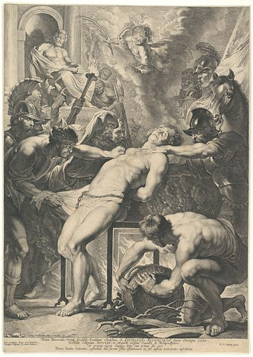 Martyrdom of Saint Lawrence (1621). Accession number: 51.501.7125.