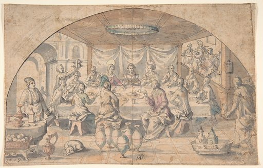 Marriage at Cana (1619). Accession number: 2003.383.
