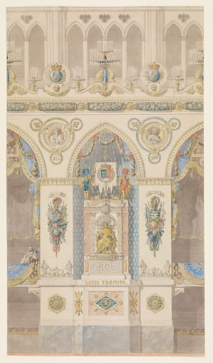 Interior Elevation, Reims Cathedral (n.d.). Accession number: 56.559.3.