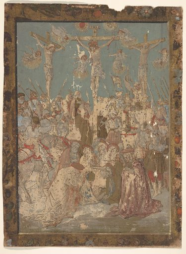 Calvary, from Life of the Virgin and Christ (1490–1500). Accession number: 18.91.5.
