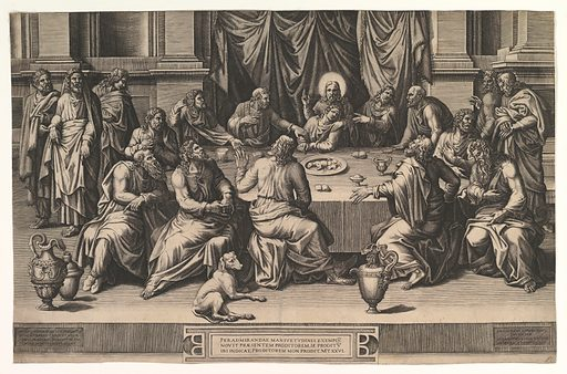 The Last Supper (1551). Accession number: 58.642.10.