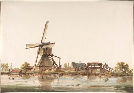 Landscape with Windmill (late 18th century). Accession number: 2003.390.