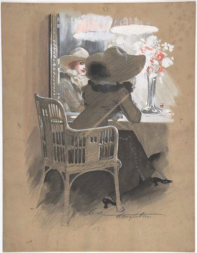 Portrait of a Woman Seated at a Table (ca. 1896). Accession number: 62.600.134.