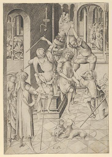 Christ Crowned with Thorns from The Passion (n.d.). Accession number: 41.1.154.