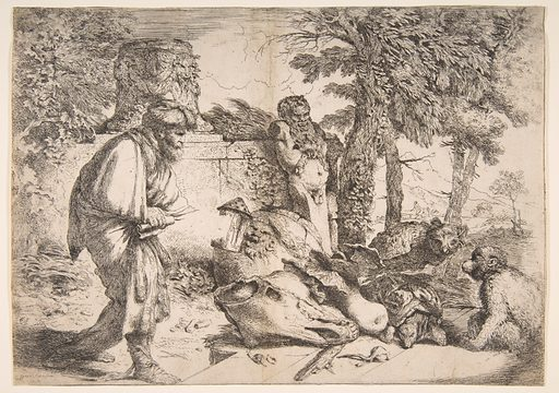 Diogenes in search of an honest man (ca. 1645–47). Accession number: 1973.500.1.