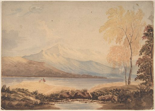 Lakeland Landscape (early 19th century). Accession number: 50.602.1426.