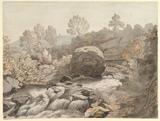 A Rocky Stream, Italy (ca. 1786–91). Accession number: 2003.524.
