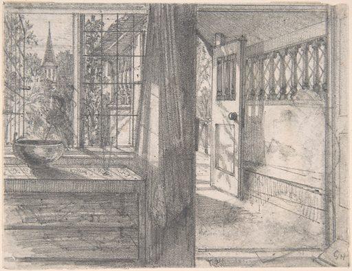 A Cottage Porch (1838–1910). Accession number: 17.3.2419.
