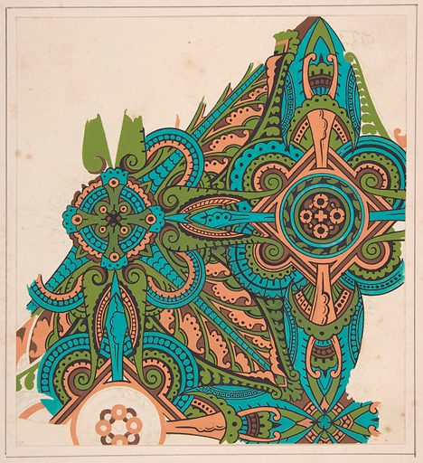 Design drawing (ca. 1883, based on earlier design). Accession number: 1992.1046.3.