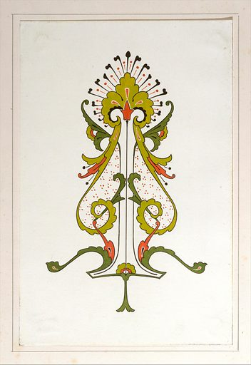 Design drawing (ca. 1883, based on earlier design). Accession number: 1992.1046.19.