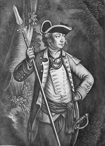 Major General John Sullivan (August 22, 1776). Accession number: 83.2.190.