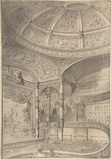 Interior of a theatre (1796–1864). Accession number: 59.608.103.