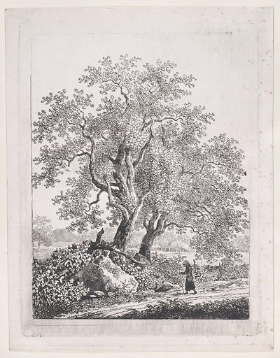 Landscape with a Strolling Woman (ca. 1800). Accession number: 2003.528.
