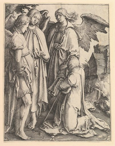 Abraham and Three Angels (ca. 1513). Accession number: 22.67.1.