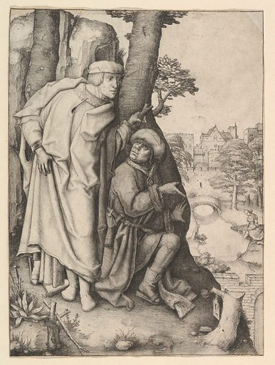 Susanna and the Two Elders (ca. 1508). Accession number: 24.8.1.