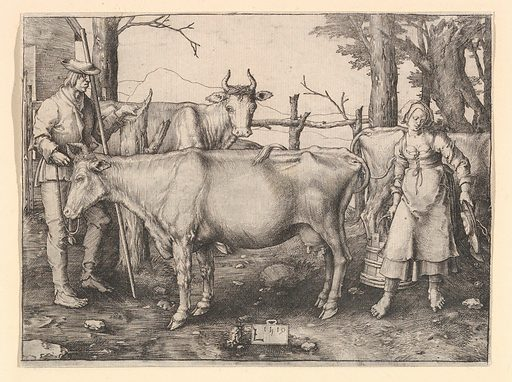 The Milkmaid (1510). Accession number: 26.64.4.