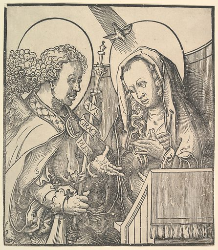The Annunciation (1515). Accession number: 37.43.12.