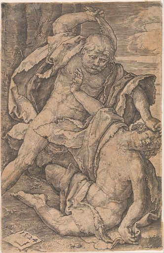 Cain Killing Abel (1524). Accession number: 47.100.1270.