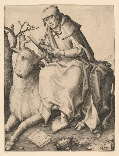 St. Luke (ca. 1508). Accession number: 51.623.7.