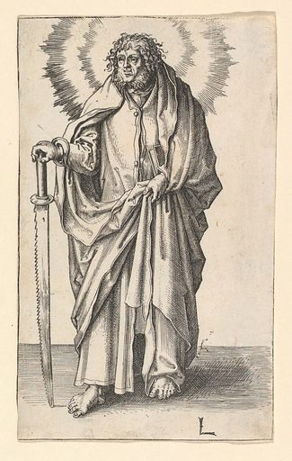 St. Simon (ca. 1510). Accession number: 57.581.51.