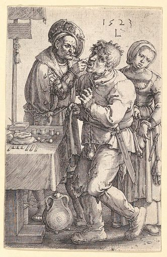 The Dentist (1523). Accession number: 60.607.