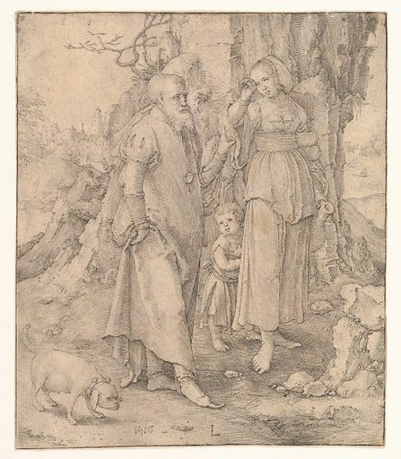 Abraham Sending Away Hagar (1516). Accession number: 62.635.102.
