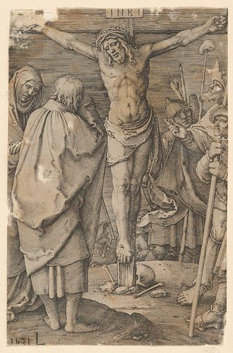Crucifixion, from the series The Passion (1521). Accession number: 62.635.111.