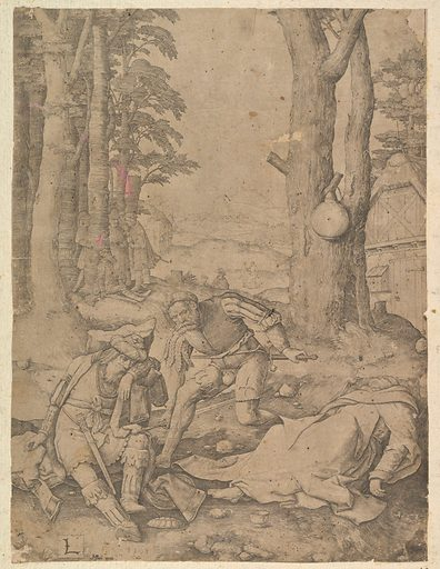 Mohammed and the Monk Sergius (1508). Accession number: 62.635.117.