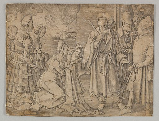 Potiphar's Wife Acuses Joseph (1512). Accession number: 62.635.880.