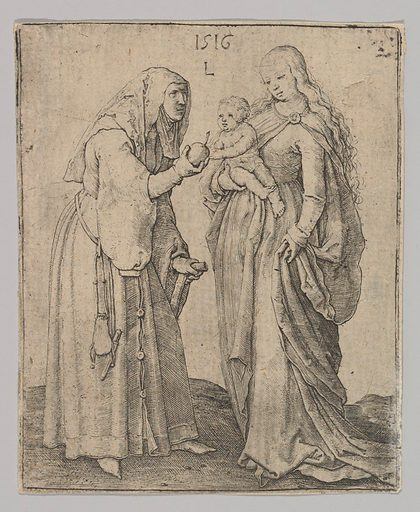The Virgin With Child and St. Anna (1516). Accession number: 62.635.109.